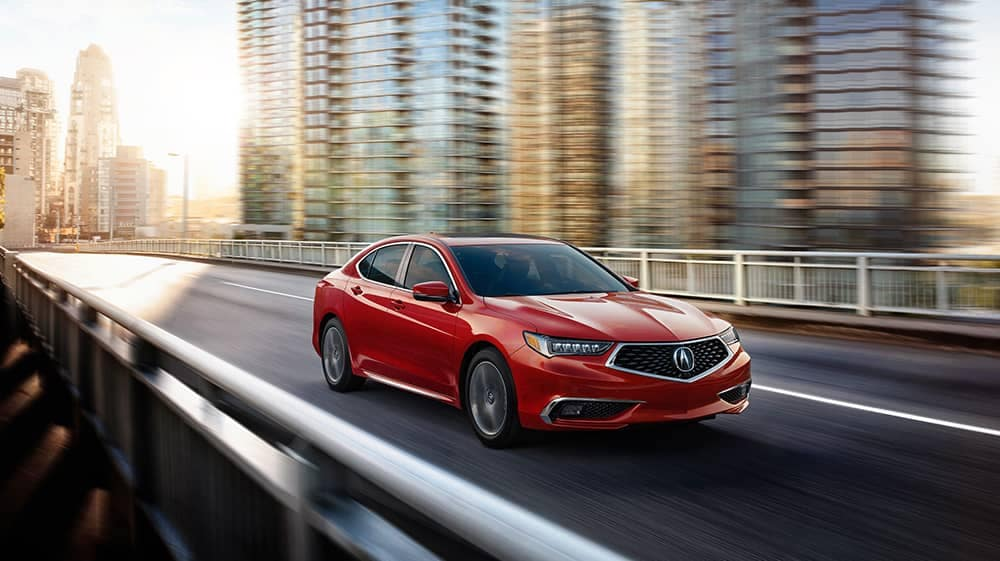 2020 Acura TLX Driving