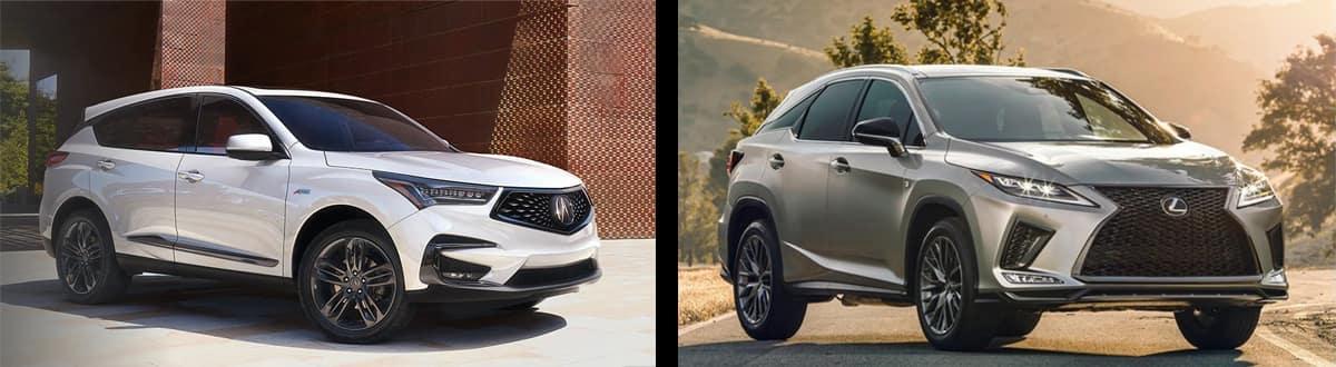 2020 Acura RDX vs 2020 Lexus RX 350