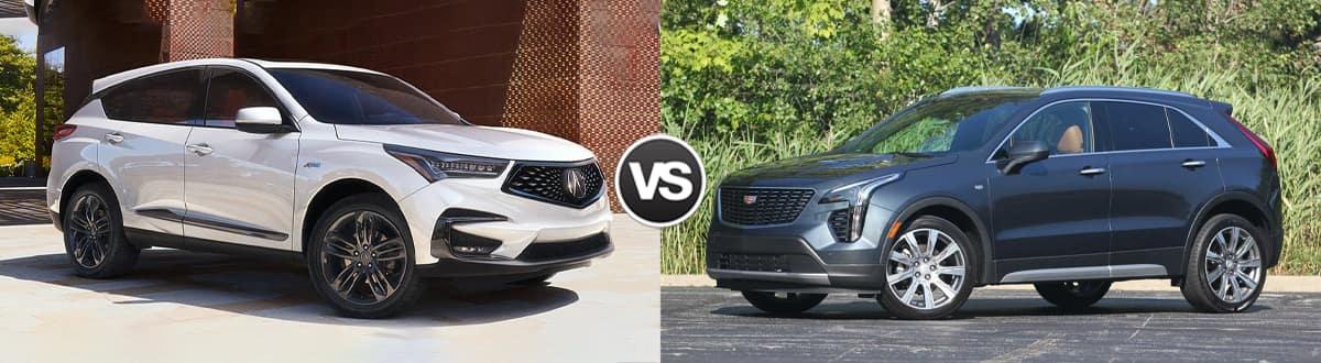 2020 Acura RDX vs 2020 Cadillac XT4