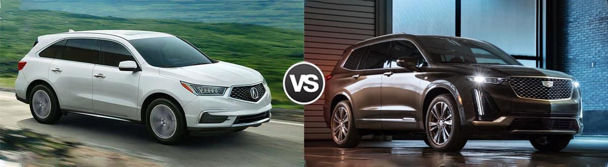 2020 Acura MDX vs 2020 Cadillac XT6