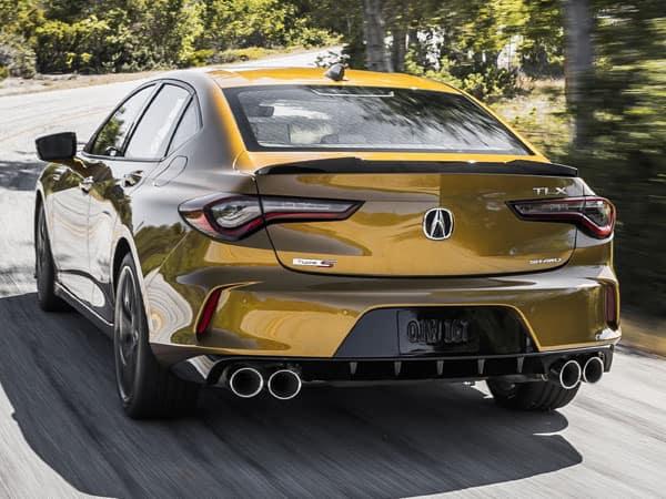2021 Acura TLX Type S Rear Angle