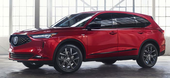 2022 Acura MDX A-Spec® Package
