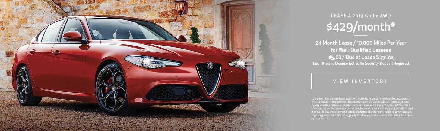 Giulia Lease Offer
