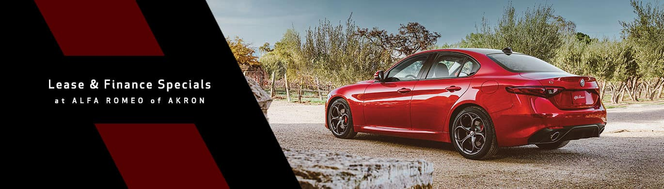 Alfa Romeo of Akron Lease & Finance Specials