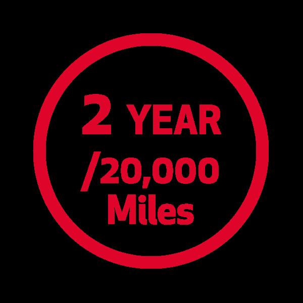 2 Year/20K Miles