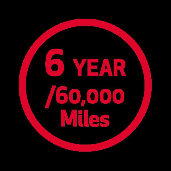6 Year/60K Miles