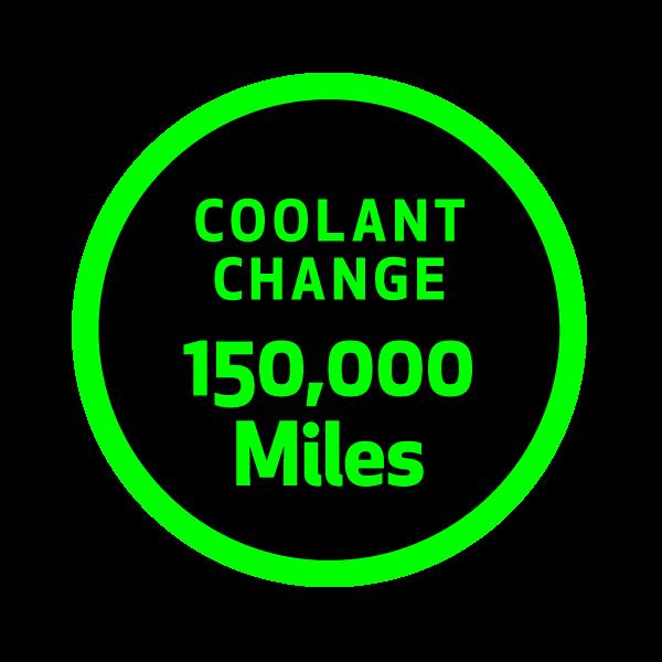 Coolant Change 150K Miles