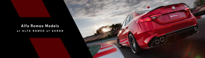 Alfa Romeo Model Lineup Page at Alfa Romeo of Akron
