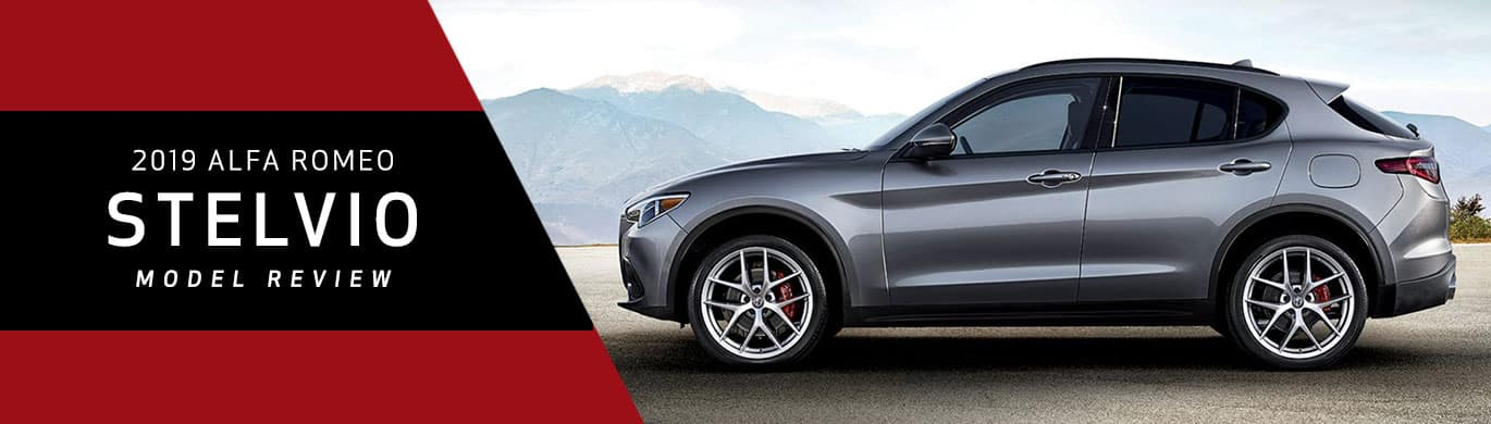 2019 Alfa Romeo Stelvio Model Overview at Ganley Alfa Romeo of Akron
