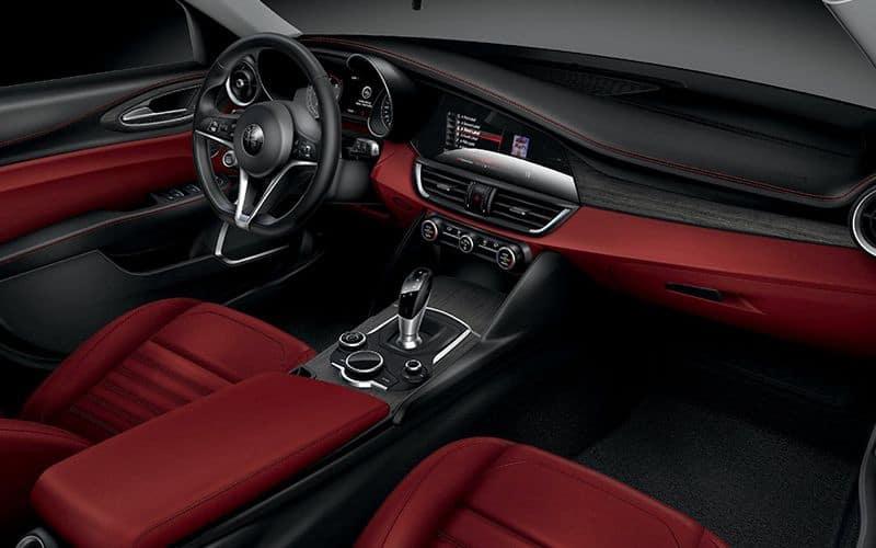 2020 Alfa Romeo Giulia Interior