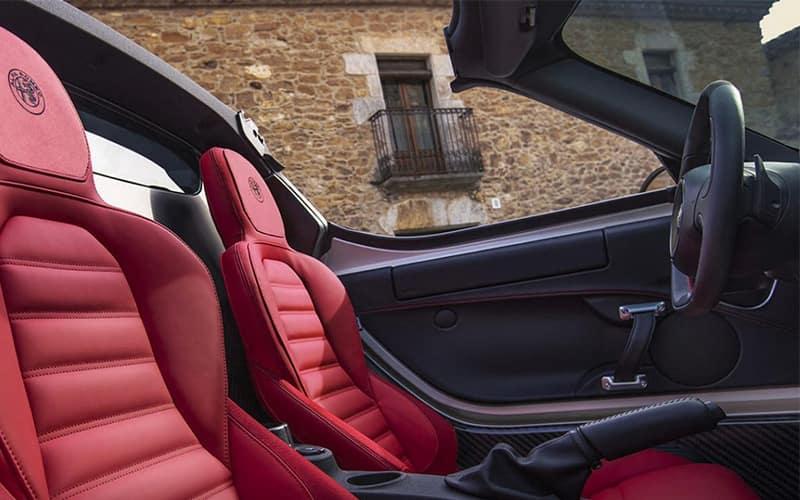 Alfa Romeo 4C Spider Interior