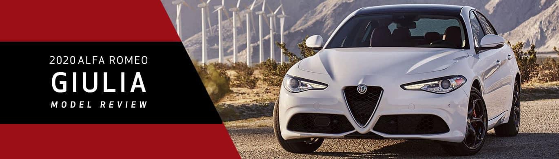 2020 Alfa Romeo Giulia Model Overview at Alfa Romeo of Akron