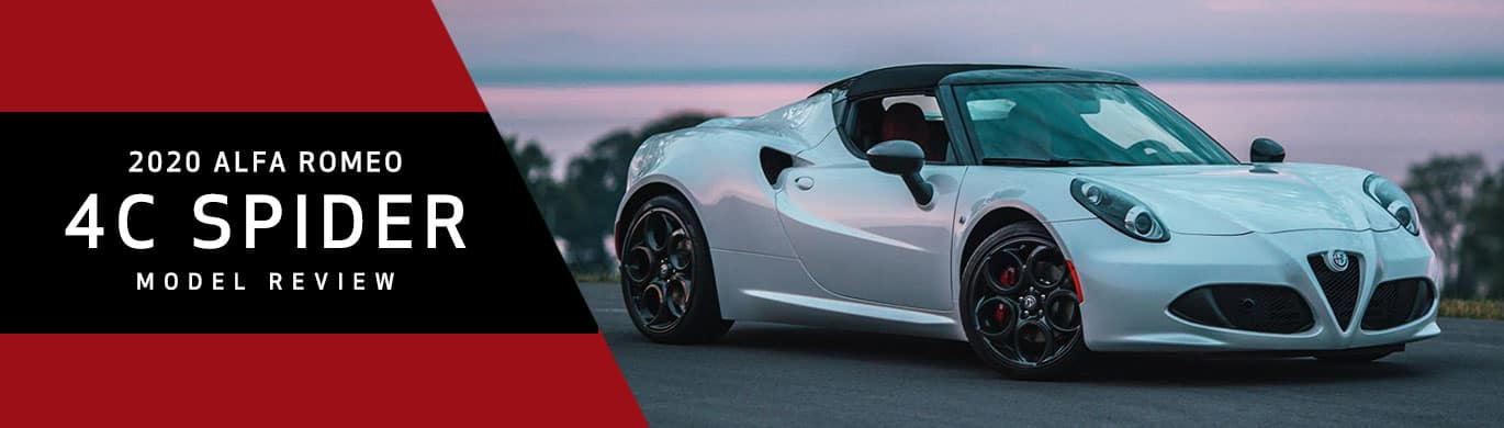 2020 Alfa Romeo 4C Spider Model Overview at Alfa Romeo Akron