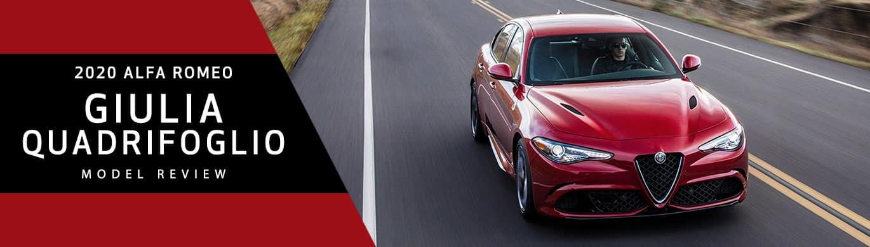 Alfa Romeo Giulia Quadrifoglio Model Overview at Alfa Romeo of Akron