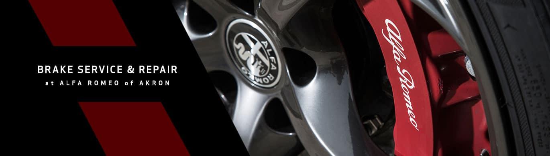 Alfa Romeo Brake Service & Repair in Akron