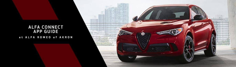 Alfa Romeo Connected Services App - Alfa Romeo of Akron