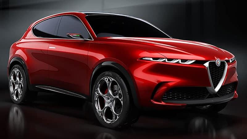 Alfa Romeo Tonale Styling