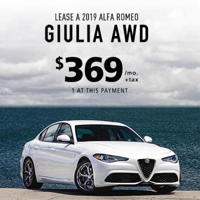 NEW 2019 ALFA ROMEO GIULIA AWD