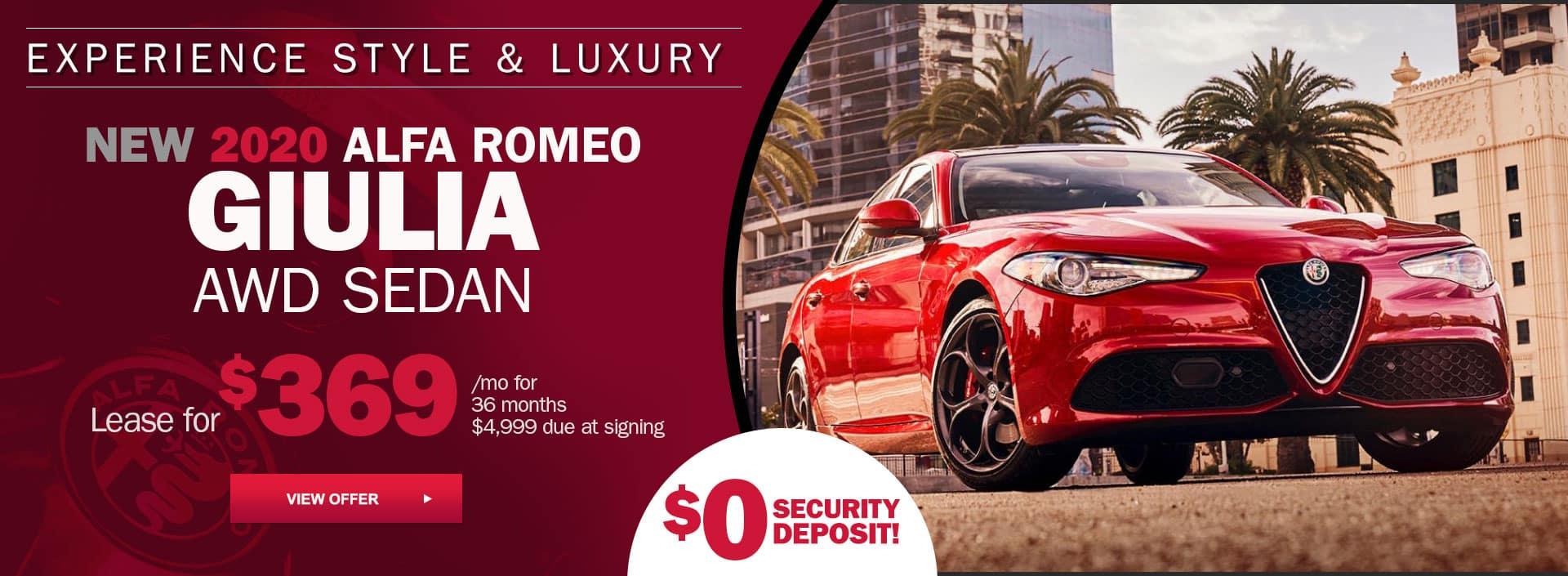 giulia lease special