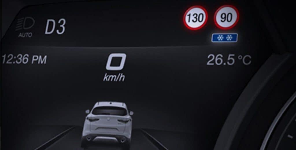 traffic sign information