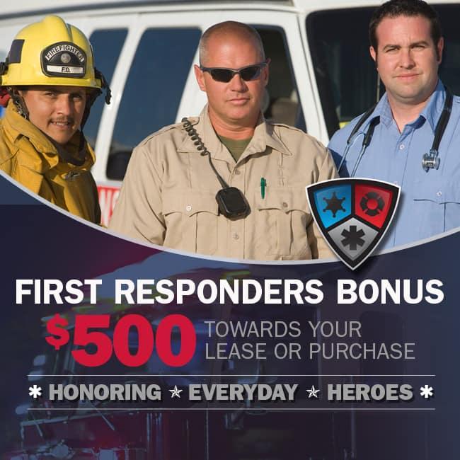 FIRST RESPONDER BONUS CASH