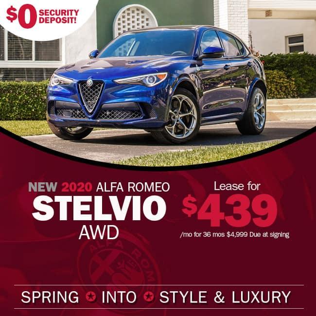NEW 2020 Alfa Romeo Stelvio AWD