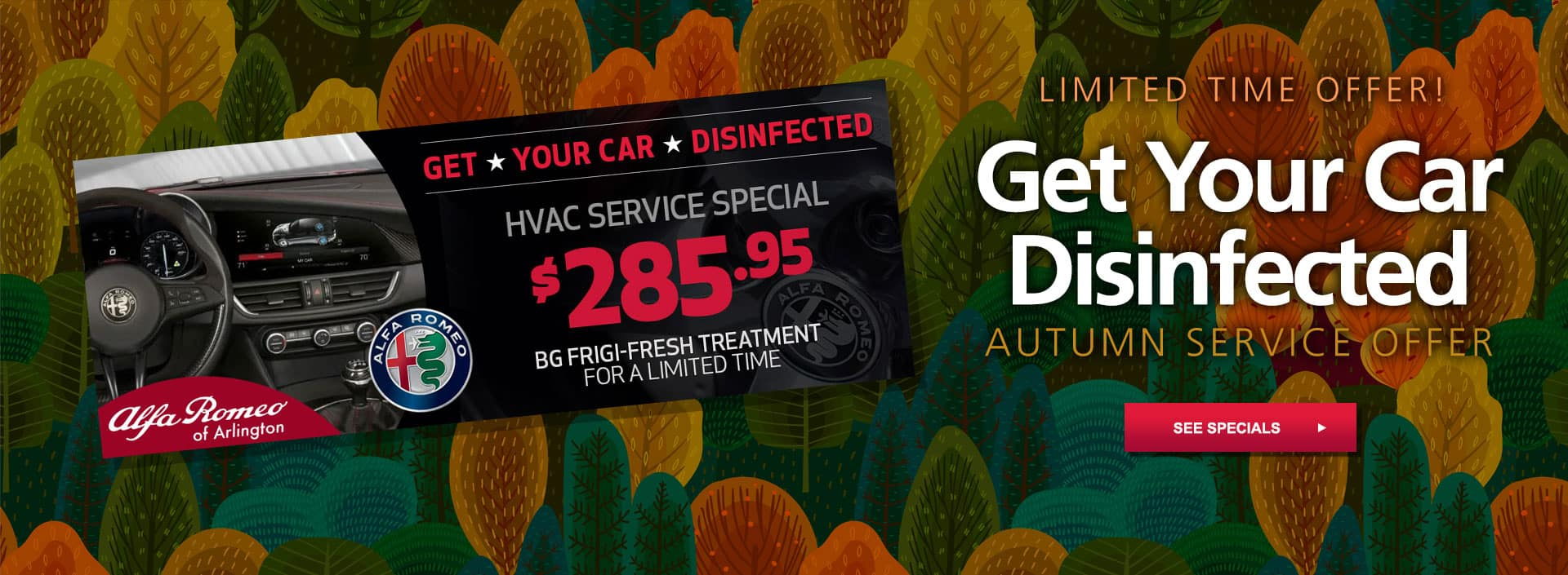get your car disinfected coupon