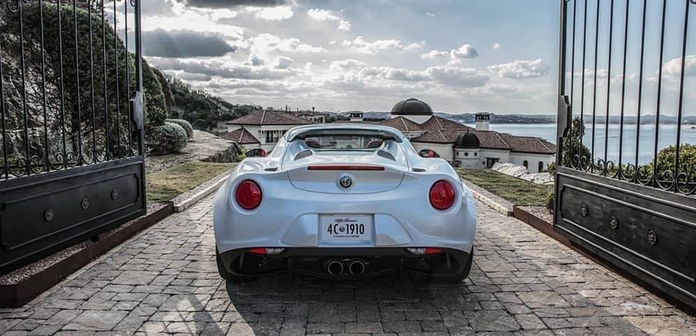 2019 Alfa Romeo 4C Spider Parked