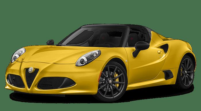 2019 Alfa Romeo 4C Spider Yellow
