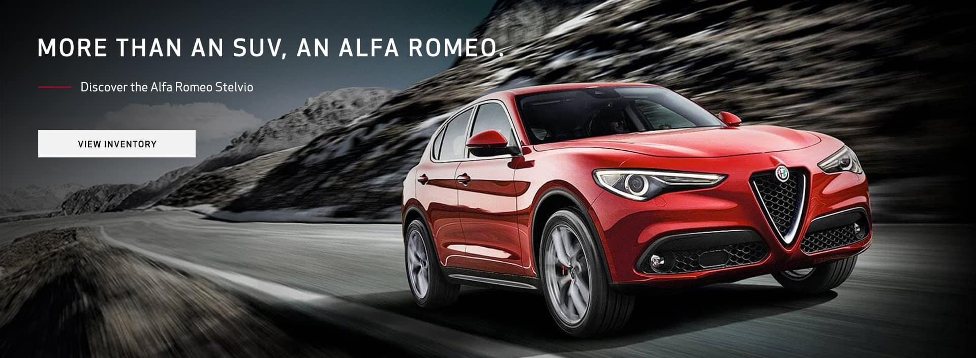 Alfa Romeo of Dayton homepage Stelvio