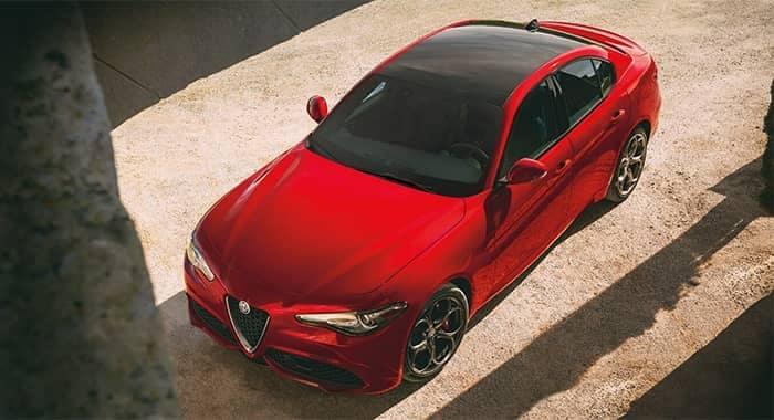 Alfa Romeo Giulia Top View