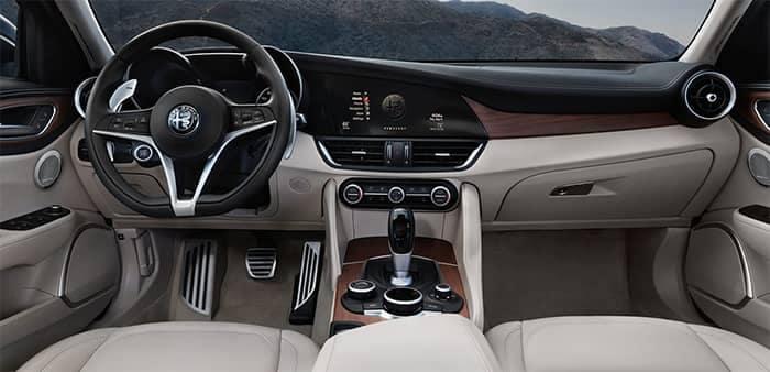 Alfa Romeo Giulia Interior Dashboard