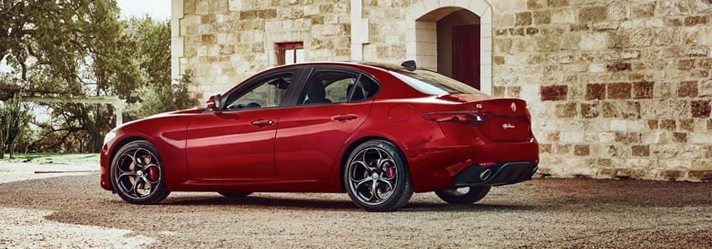 Alfa Romeo Giulia Parked
