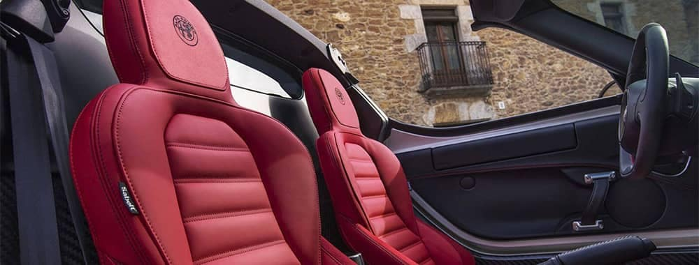 Alfa Romeo 4C Interior Seating Features