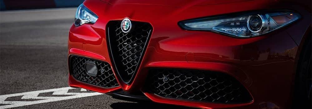Alfa Romeo Giulia Front End Closeup