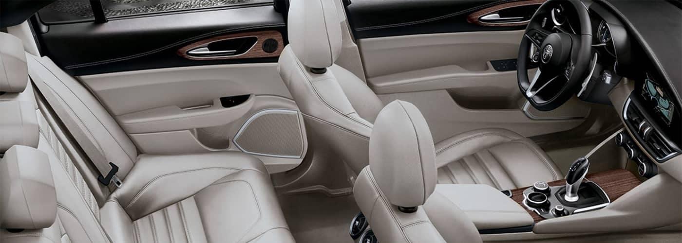 Alfa Romeo Giulia Leather Seating