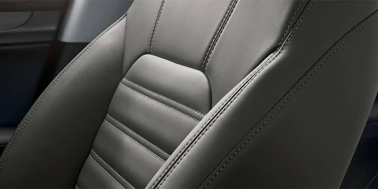 Alfa Romeo Stelvio Leather Seating Closeup