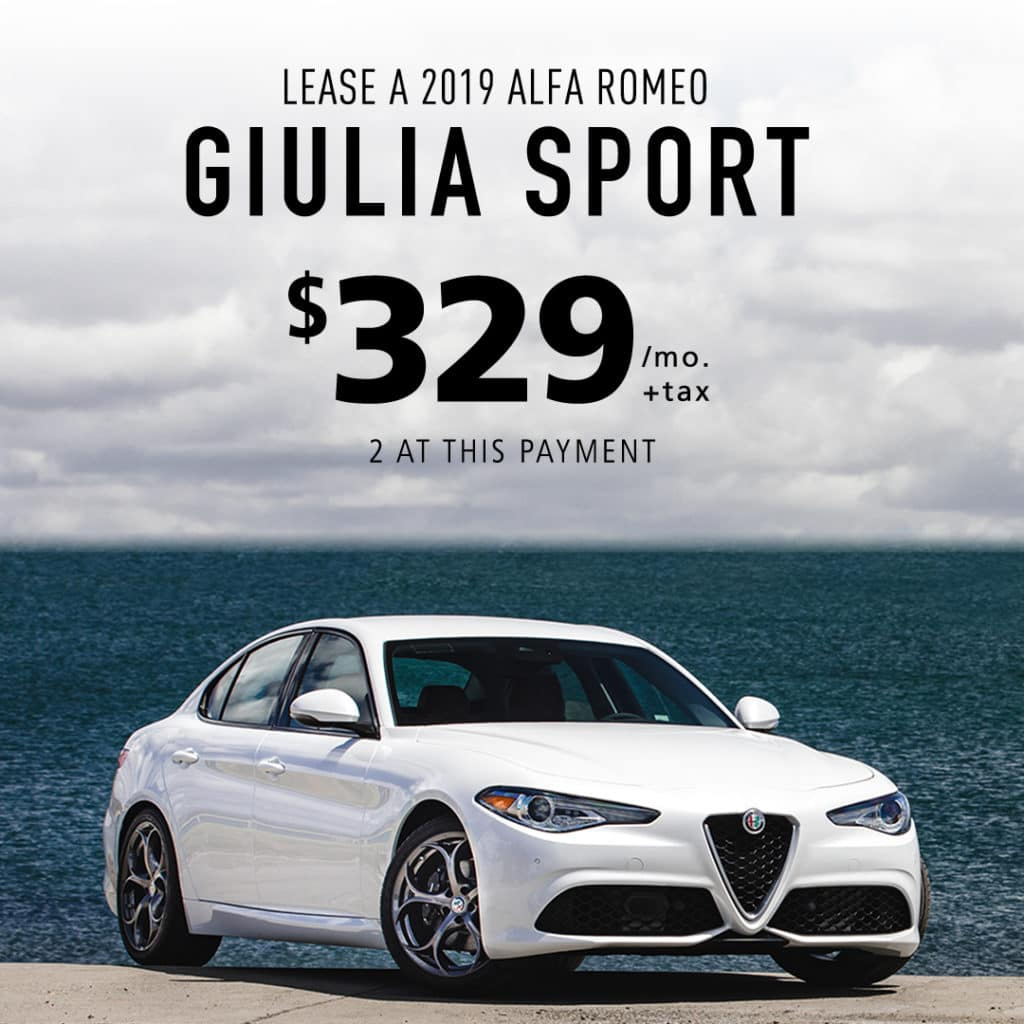 Current New Alfa Romeo Specials Offers