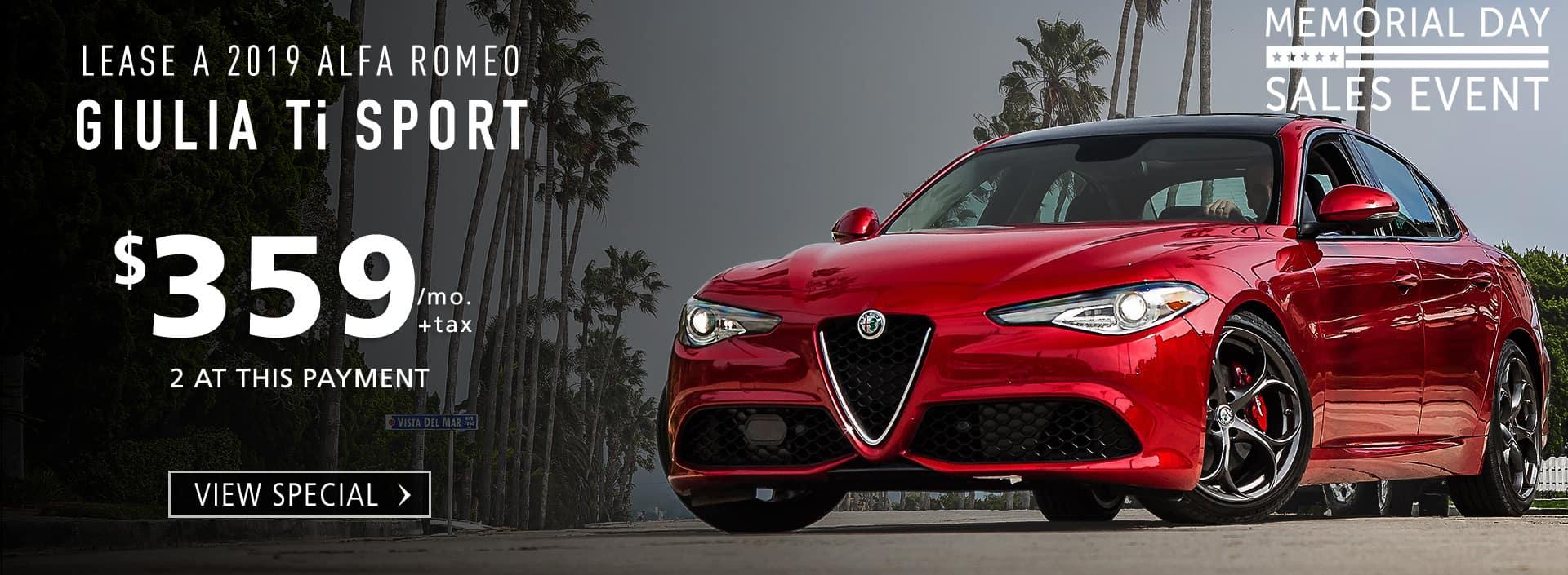 Alfa Romeo Lease >> Alfa Romeo Of San Diego Alfa Romeo Dealer In San Diego Ca