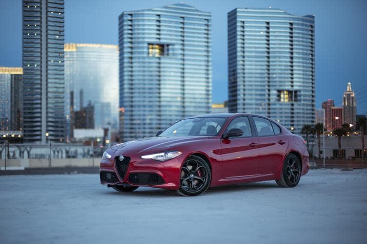 2019 Alfa Romeo Giulia Nero Edizione California