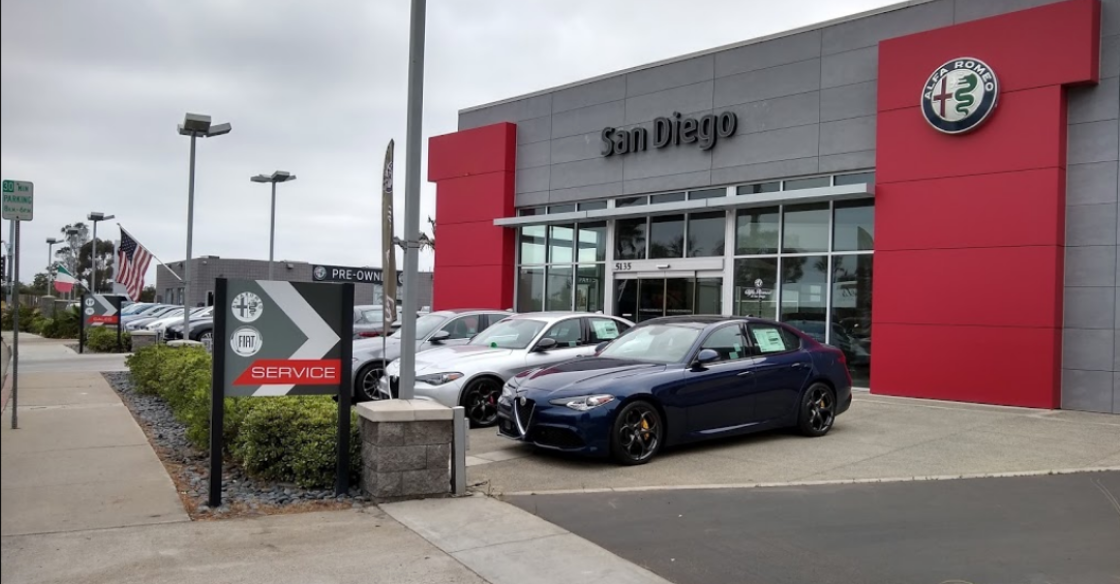 Alfa Romeo San Diego dealership
