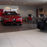 Alfa Romeo San Diego showroom