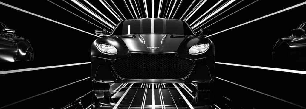 Aston Martin DBS Superleggera shine