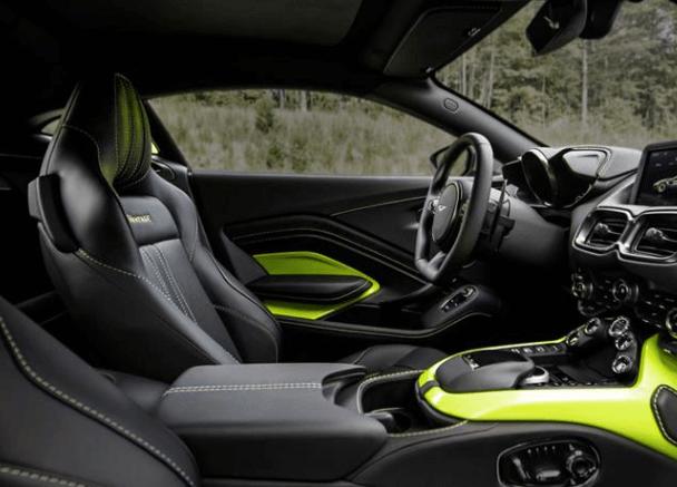 2020 Aston Martin Vantage Interior Aston Martin Austin