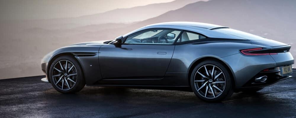 dark grey 2021 Aston Martin DB11