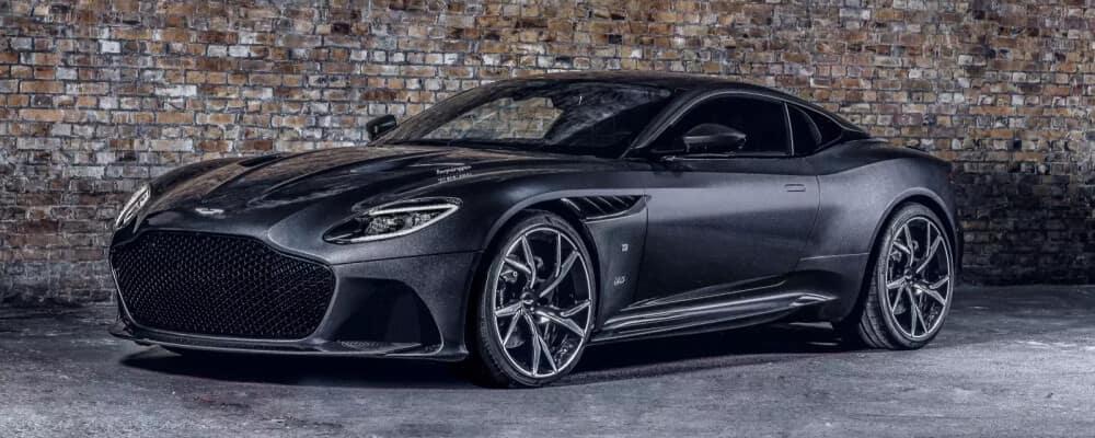 dark grey 2021 Aston Martin DBS Superleggera