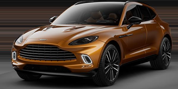 2021 Aston Martin DBX.