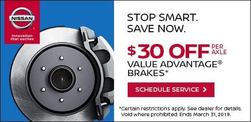 Save on Value Advantage Brakes