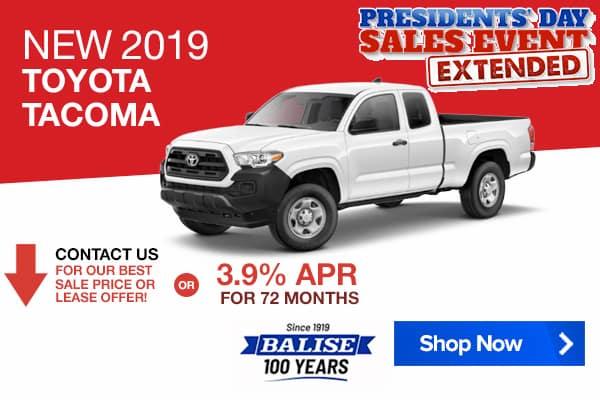 New 2019 Toyota Tacoma