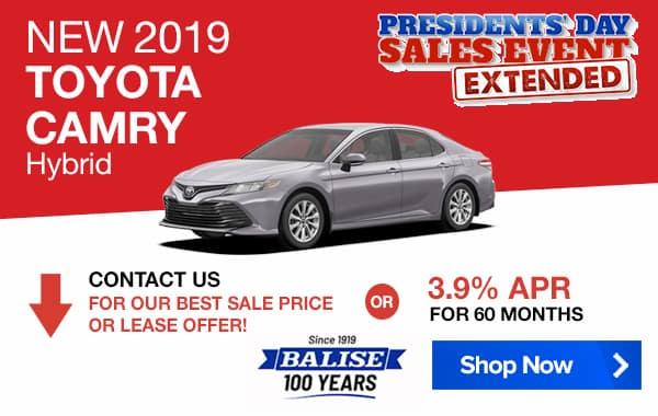 New 2019 Toyota Camry Hybrid